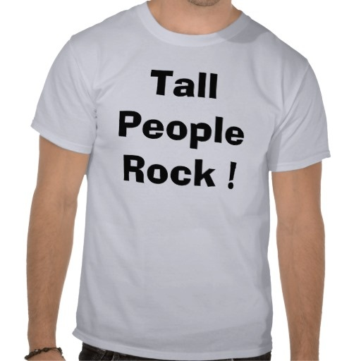 Tall people rock t shirt tall people for Big and tall rock t shirts