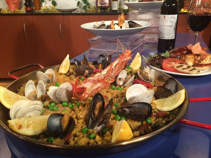 Mmm ... Spanish Paella from Zola Bistro