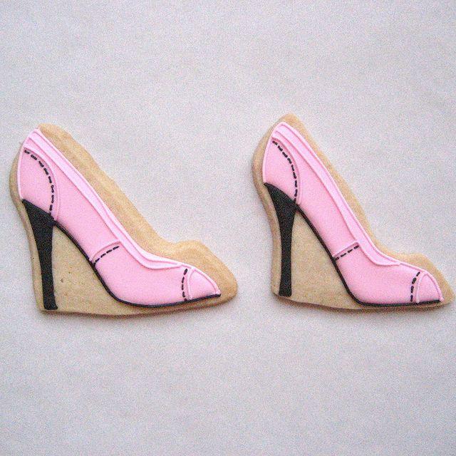 best 25 shoe cookies ideas on high heel