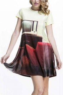 Culito from Spain barevné šaty Sofa Amarillo - 1080 Kč