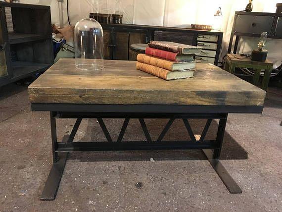 Table Basse Eiffel De Style Industriel Table Basse Table En