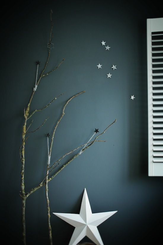 I'm decorating my home with matt white ceramic stars this Christmas!   from The Fresh Exchange.