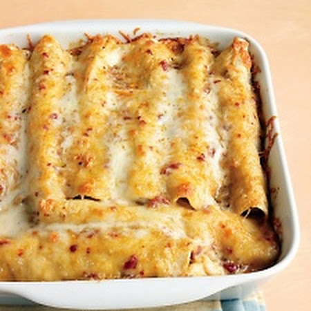 Lighter Chicken Enchiladas - Martha Stewart Recipes, most popular Martha recipe!