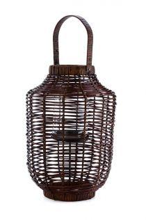 Lampion  z rattanu MOKO rozm.60x31cm.