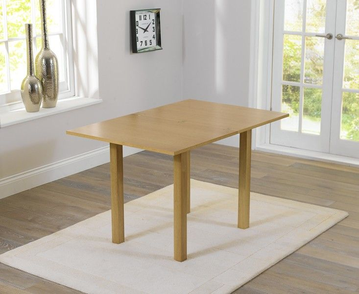 Hastings £200 60cm x 80cm /120cm Extending Dining Table at Oak Furniture Superstore
