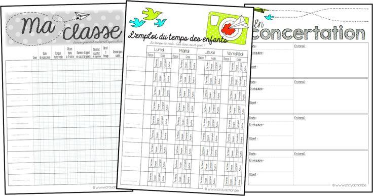 """Cahier de planification : """"Ça plane pour ma classe et moi"""""""