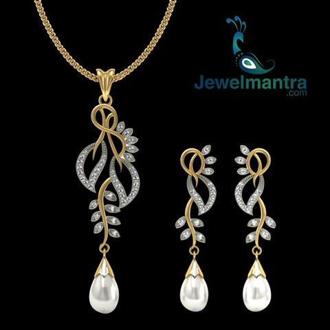 Diamond jewellery that makes you feel dazzaling every day...... For more collection log on @ www.jewelmantra.com A unit of Mahabir Danwar Jewellers