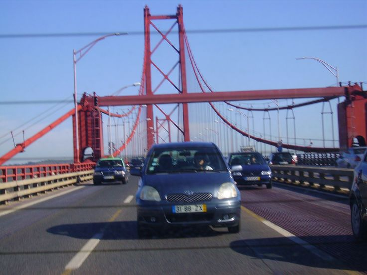 Bridge over Rio Tejo.