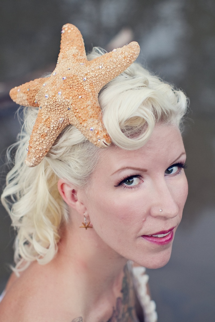 1000 Images About Seashell Hair Accessories On Pinterest