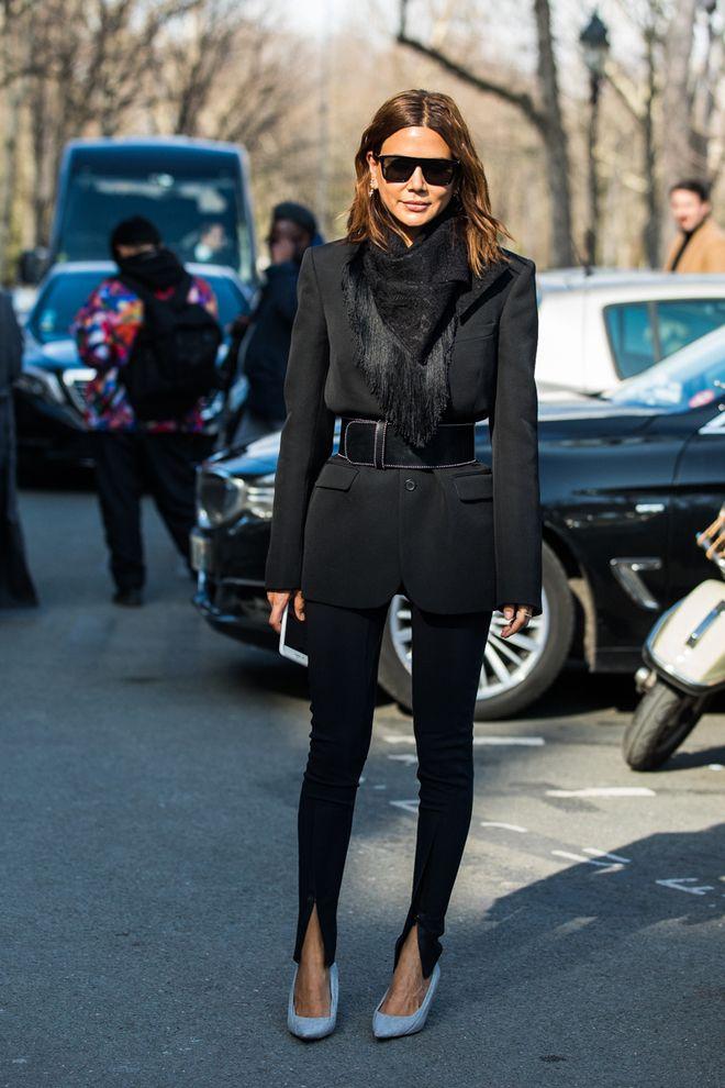 Street style a la Fashion Week automne,hiver 2018,2019 de Paris 178