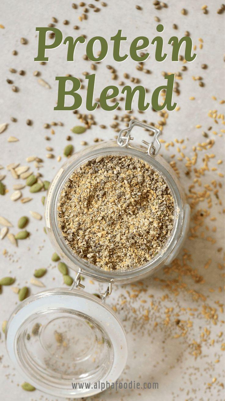 5seed diy vegan protein powder blend recipe in 2020