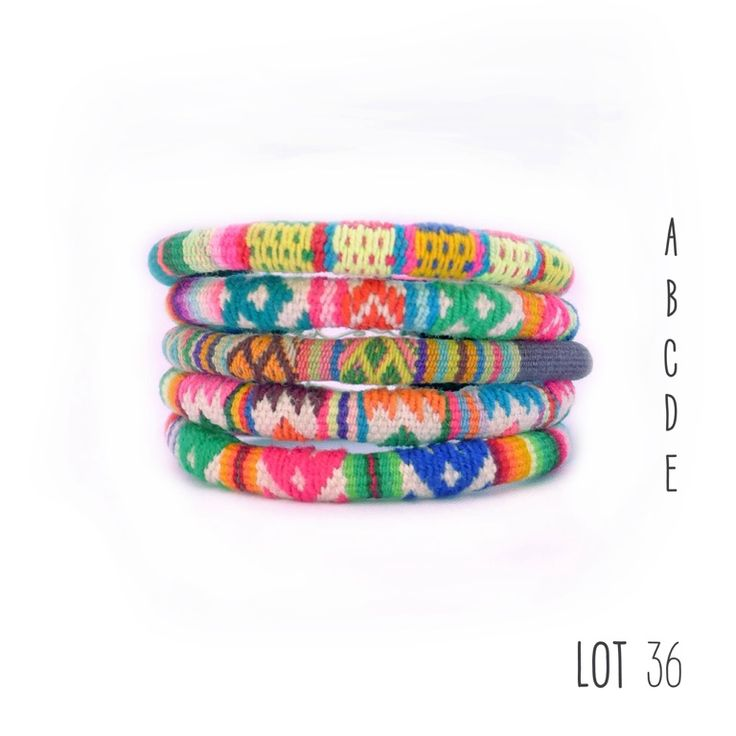 Peruvian bracelets