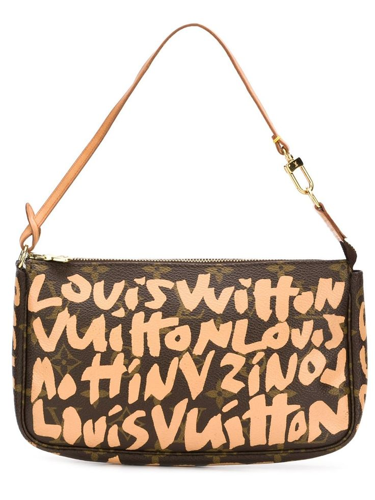 "Louis Vuitton Vintage bolso de hombro Louis Vuitton x Stephen Sprouse ""Graffiti Pochette"""