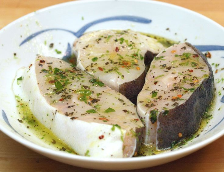 DYC #Marinated_Fish  Make sure that you are using fresh #fish. This #marinade works well when preparing raw fish salads.