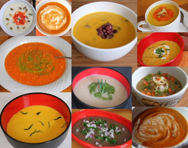 A Collection of Pureed Soups {Curried Cauliflower Potato Soup and Creamy Cannellini Bean Soup Recipes} - Jeanette's Healthy Living