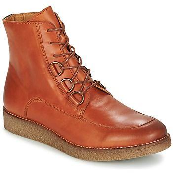 Fiel a su reputación, Kickers ha creado estas botas bajas para todas las que buscan un modelo con un look fácil de llevar. Su corte en piel marrón forma parte de sus cualidades. La flexibilidad de su suela de sintético la convierten en un calzado muy agradable de llevar. Te acompañará a lo largo de toda la temporada. - Color : Marrón / Claro - Zapatos Mujer 145,00 €