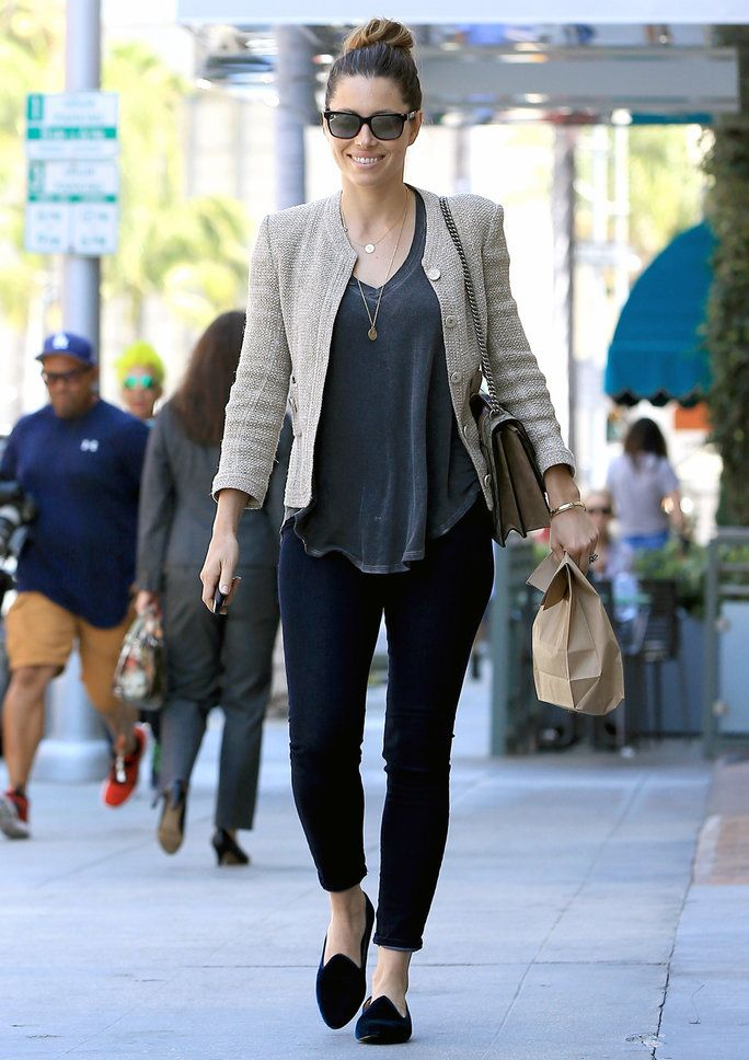 Jessica Biel's Street Style: See Her A+ Daytime Outfit | InStyle.com