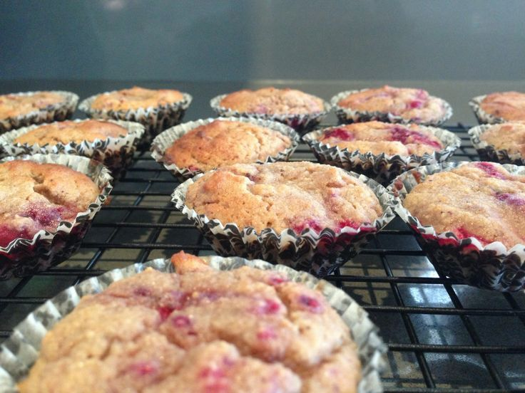 Raspberry Muffins Grain and sugar free muffins? Don't mind if I do!