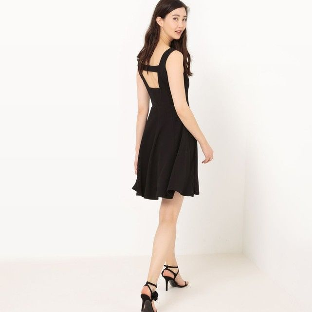 Robe sans manches patineuse