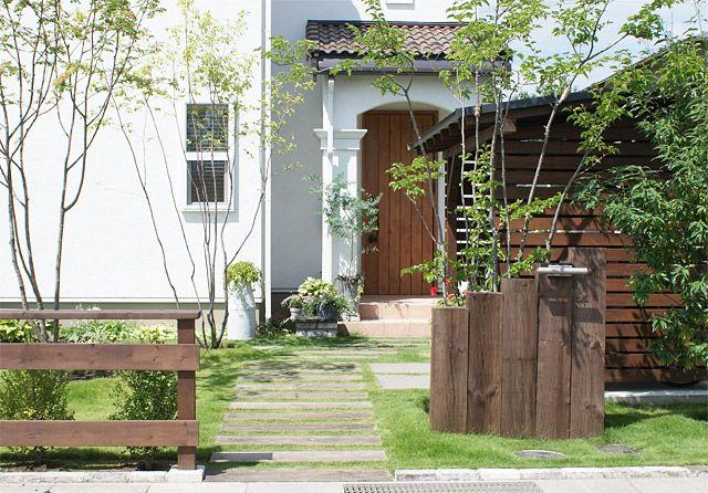 エクステリア、外構、庭づくり施工例1 株式会社ガーデンファクトリー
