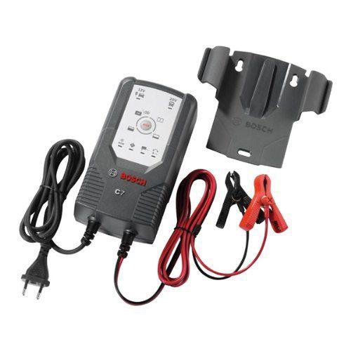 Bosch Chargeur: Applications: voitures, utilitaires Chargeur: entièrement automatique Tension de sortie nominale: 12/24V Type de batterie:…