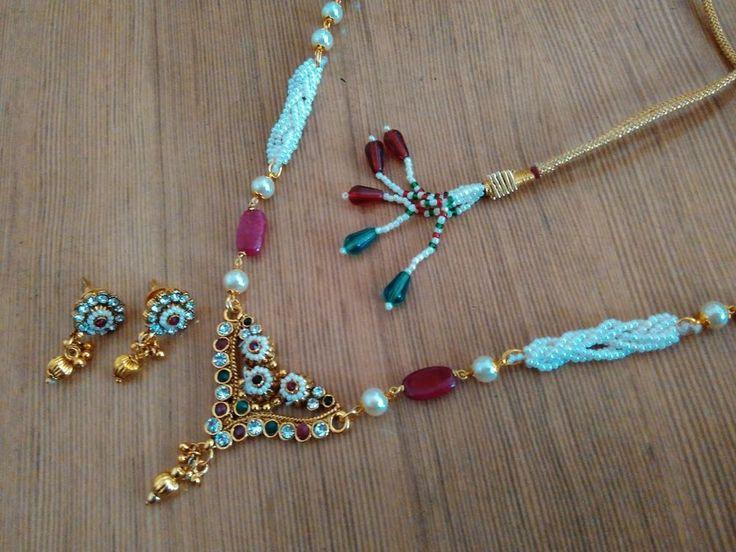 indian Designer Kundan meena  gold Plated american d Indian Jewelry Necklace  #panassh