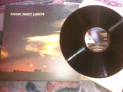 Friday Night Lights Soundtrack featuring Explosions In The Sky...Out Of Print.