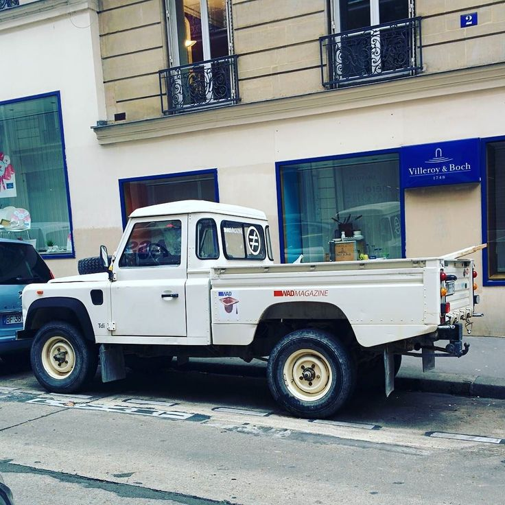 2007 Land Rover For Sale: Not Very Common : A Defender 110 Pick-Up Simple Cab (1990