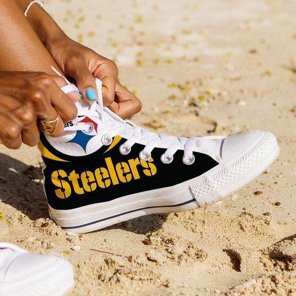 Pittsburg Steelers Ladies High Top