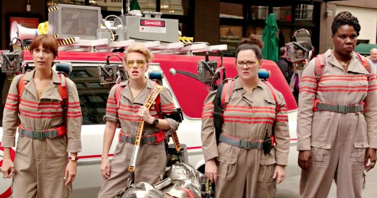 'Ghostbusters' Trailer Has Arrived -- Get your first look at Kristen Wiig, Melissa McCarthy, Kate McKinnon and Leslie Jones in the all-female 'Ghostbusters' reboot. -- http://movieweb.com/ghostbusters-3-trailer-2016/