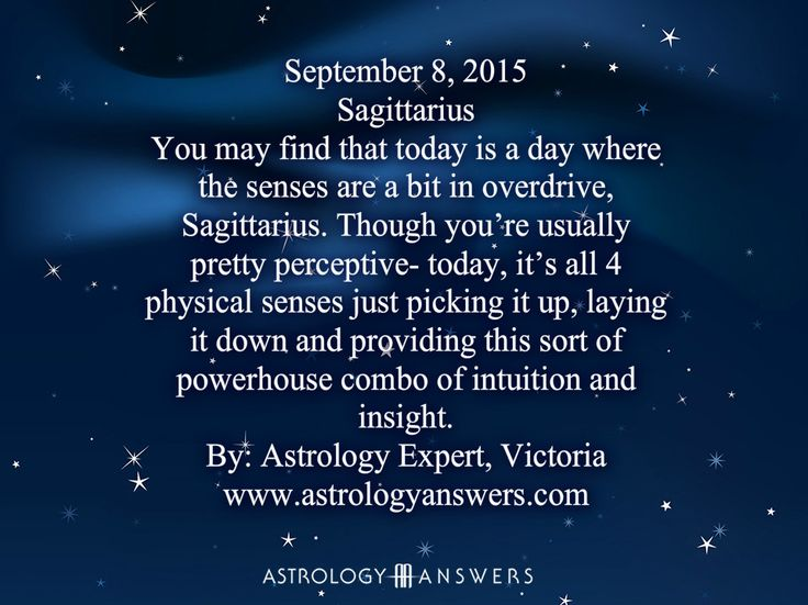 The Astrology Answers daily horoscope for September 8, 2015 #astrology