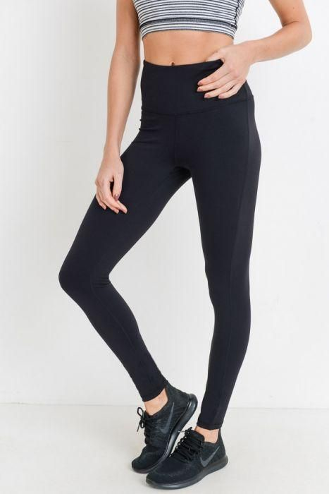 79cc480b6715d3 These true performance leggings are gimmick-free and hassle-free. The high  waist band offers abs support and a hidden pouch for your phone.