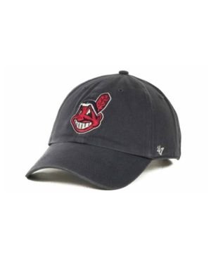 '47 Brand Cleveland Indians Clean Up Hat - Blue