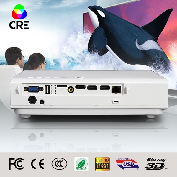 736.00$  Watch here - http://aliz8m.worldwells.pw/go.php?t=32675486469 - 5% Discount 2016 New Smart Projector MiniProjector Portable proyector led full hd 3d wifi Overhead projektor 736.00$