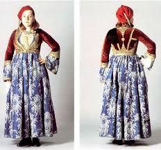 Risultati immagini per Παραδοσιακά υψηλή μόδα ελληνική φορεσιά