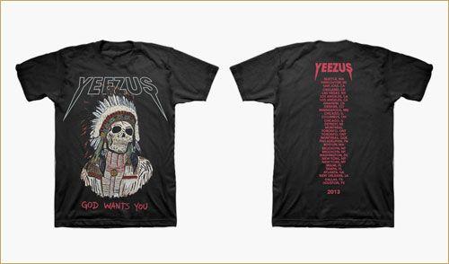 Yeezus Tour Shirt