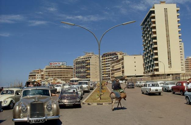Raouche', Beirut 1960's