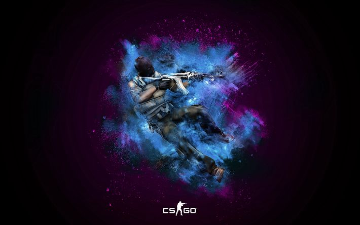 Download wallpapers Counter-Strike Global Offensive, 4k, Valve, CS GO, Counter-Strike