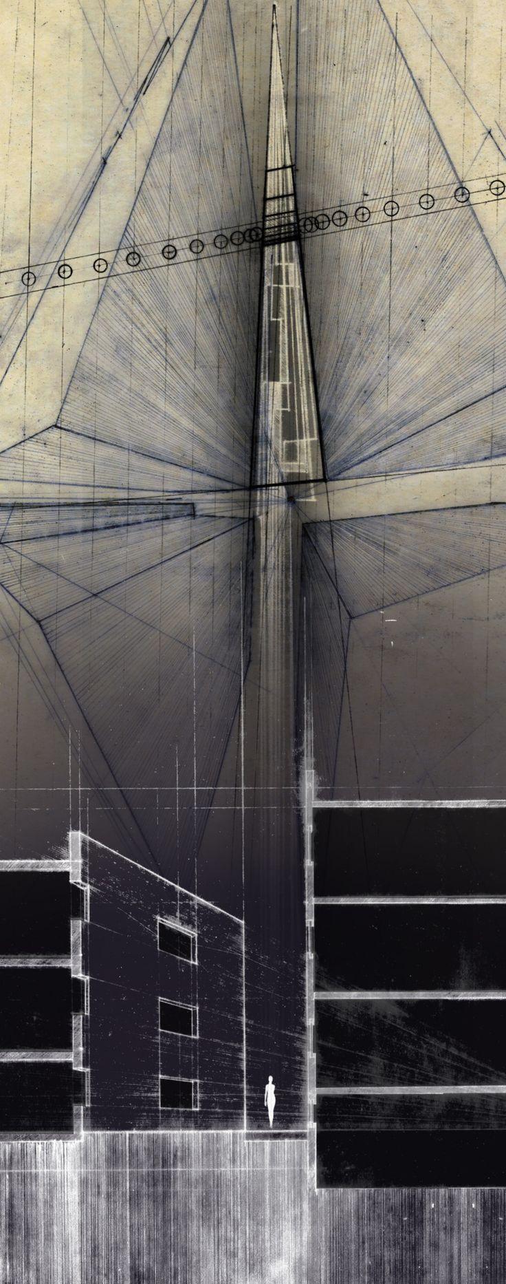 Drawing Architecture | Vignesh Madhavan