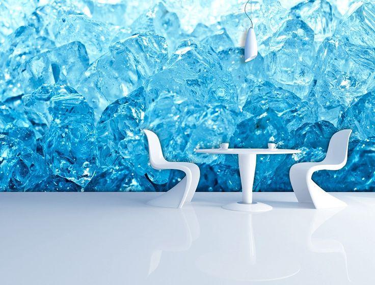 Fototapete Blue Ice in verschiedenen Größen - als Papiertapete oder Vliestapete…