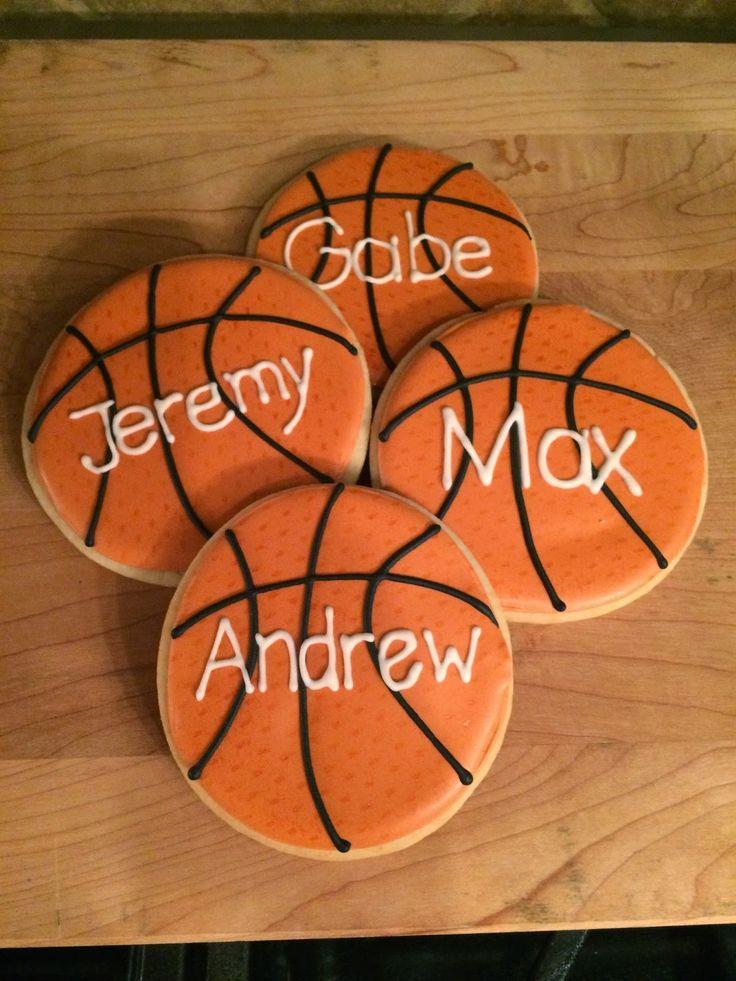 Basketball Sugar Cookies...layup!
