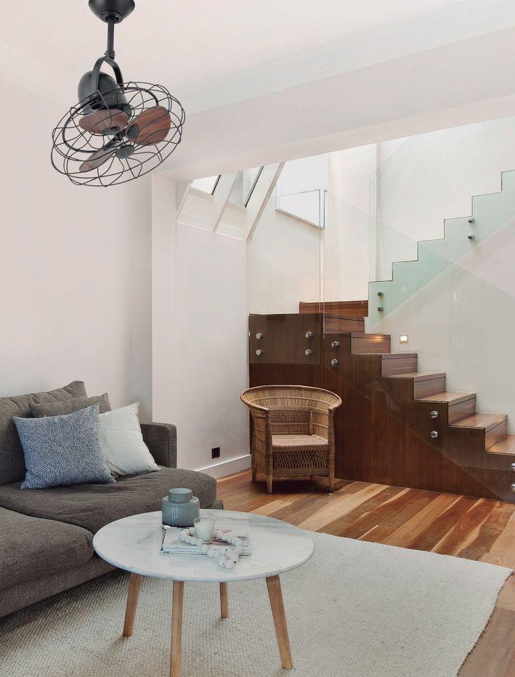 Ventilador de techo marrón Keiki 33715 sin luz Ø 450 de Faro [33715] - 169,80€ :