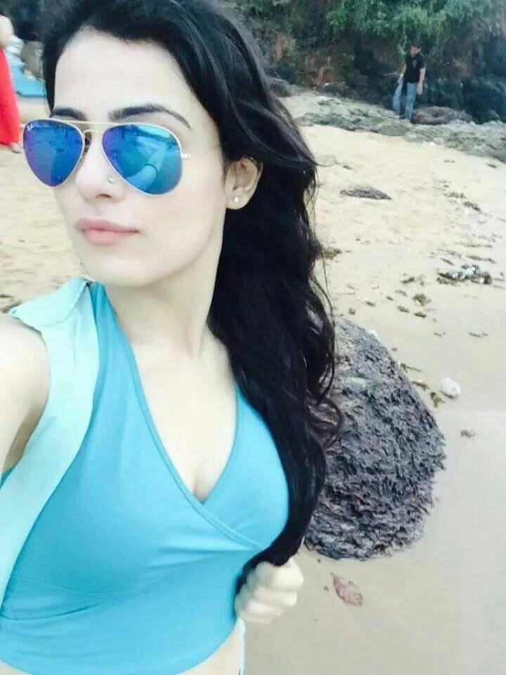 Radhika madan in blues...