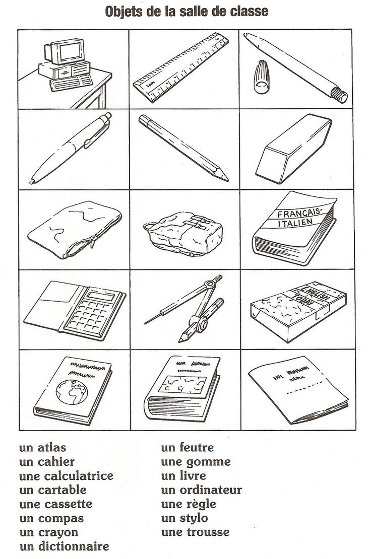 Assez Les 25 meilleures idées de la catégorie Matériel scolaire sur  DH62