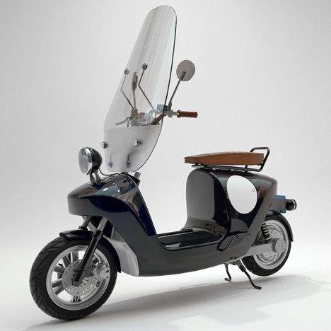 Be.e e-scooter made from plants by Waarmakers