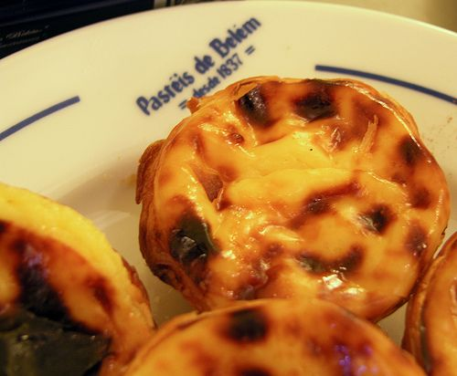 pasteis de belem!!! (pasteis de nata) the best ones in portugal from the best café! And 1 is never enough...