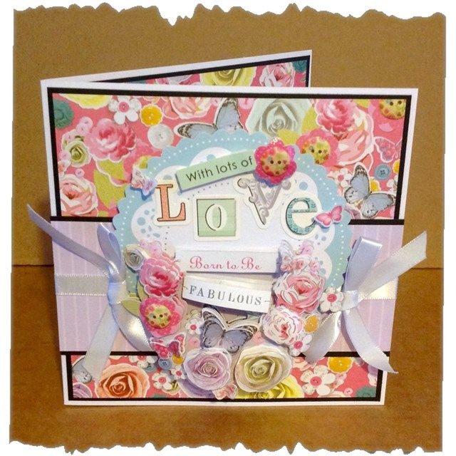 663 best Paper crafting with Docrafts images – Papercraft Birthday Card