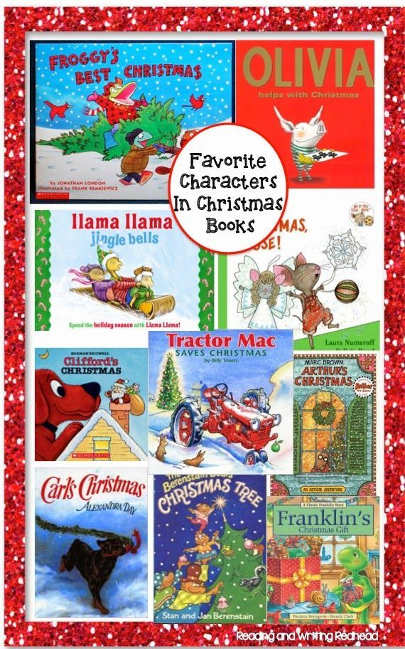 Reading and Writing Redhead: 40 Fabulous Christmas Books for Kids. Some terrific favorite characters here like Olivia, Arthur, and Carl. For more posts like this check out my blog at www.readingandwritingredhead and sign up for my free newsletter: eepurl.