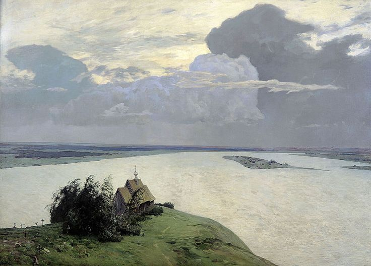 Above the Eternal Tranquility (Над вечным покоем) Isaak Levitan