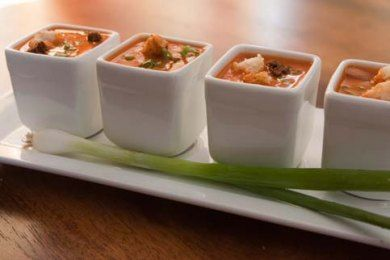 10 Simple Amuse Bouche Recipes to serve on ceramic spoons